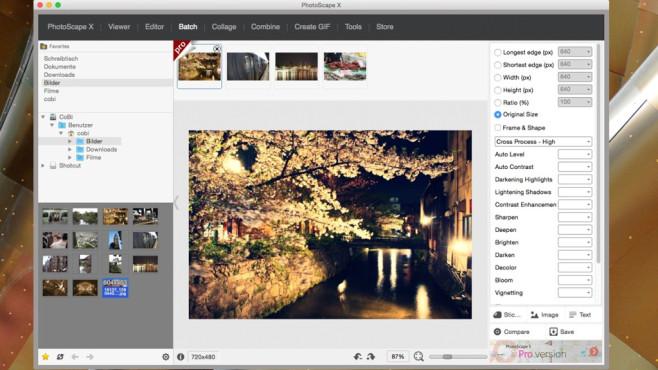 PhotoScape X: Adaption von beliebtem Windows-Pendant ©COMPUTER BILD