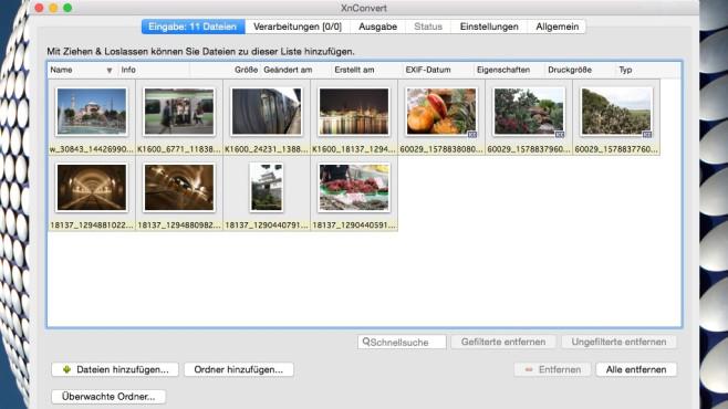 XnConvert: Dateien in Masse umwandeln und verbessern ©COMPUTER BILD