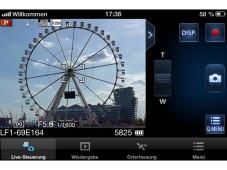 Panasonic Image App: Fernsteuerung per Smartphone©COMPUTER BILD