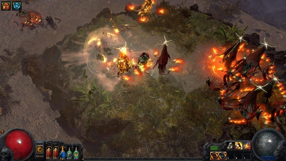 Screenshot 1 - Path of Exile