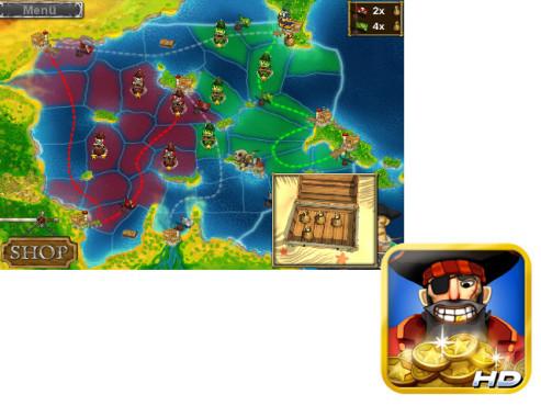 Pirates vs Corsairs – Davy Jones' Gold HD ©Microids