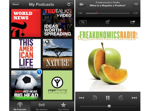 Screenshot Podcasts ©COMPUTER BILD