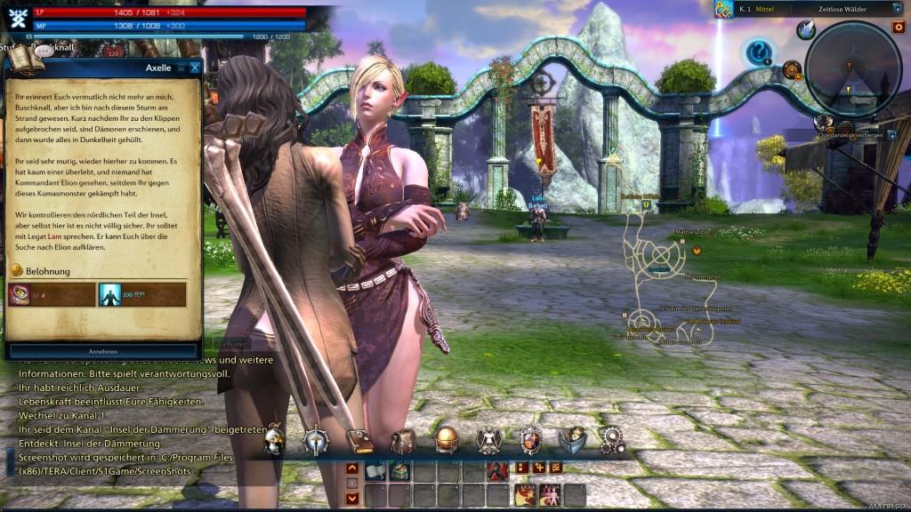 Screenshot 1 - TERA (The Exiled Realm of Arborea)