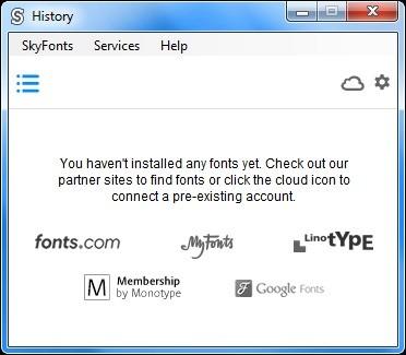 Screenshot 1 - Monotype SkyFonts / Google Fonts