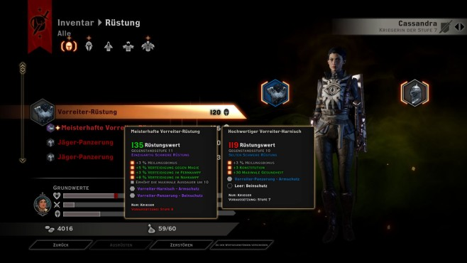 Dragon Age 3 – Inquisition: Inventar © Electronic Arts