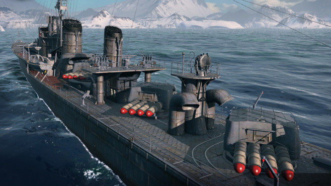 Actionspiel World of Warships: Schlachtschiff © Wargaming.net