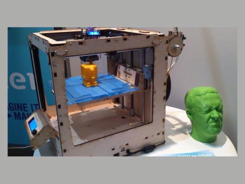 3D-Drucker bei der Arbeit©COMPUTER BILD