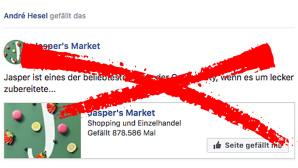 Soziale Werbung©Facebook, COMPUTER BILD