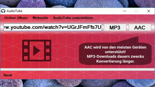 AudioTube © COMPUTER BILD