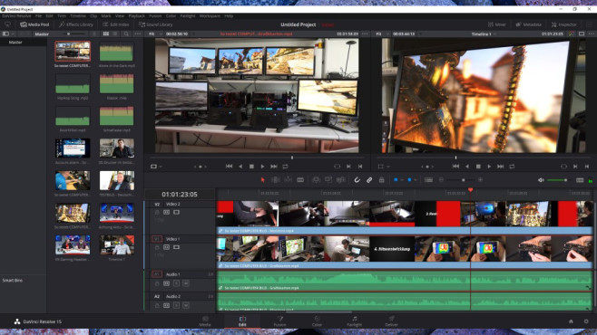 DaVinci Resolve © COMPUTER BILD