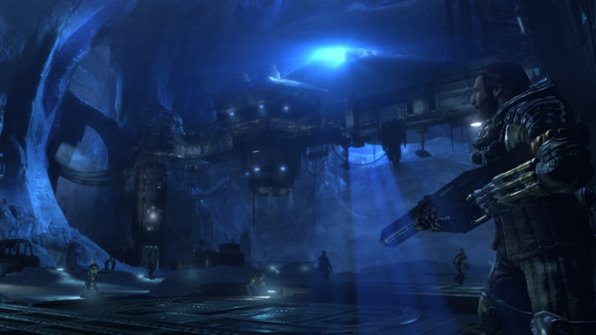 Actionspiel Lost Planet 3: Hangar © Capcom