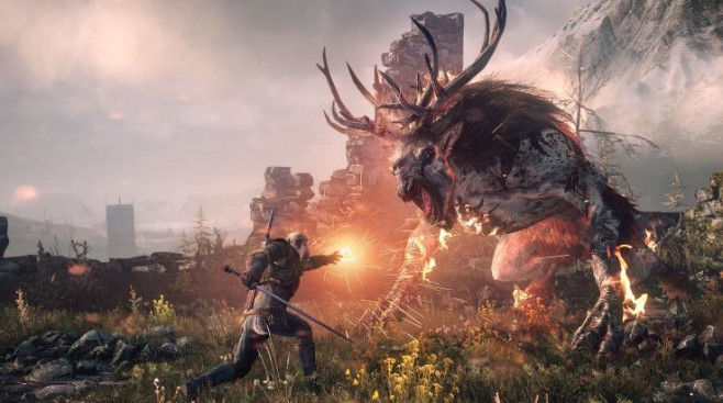 The Witcher 3: Kampf ©CD Projekt Red