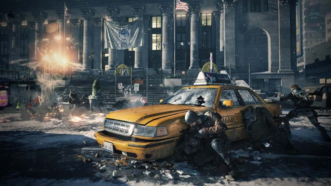 Tom Clancy's The Division: Taxi © Ubisoft