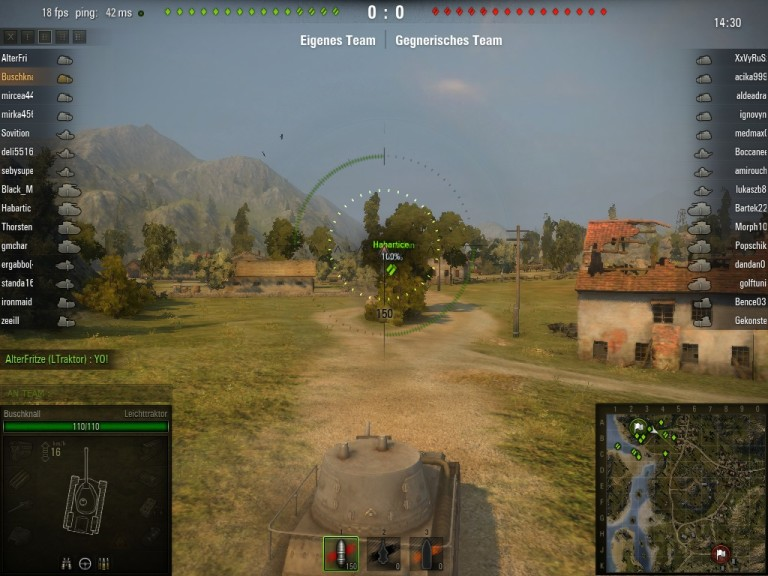 Screenshot 1 - World of Tanks