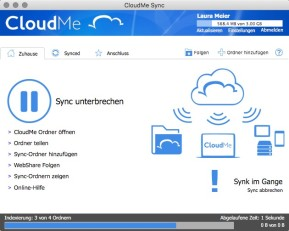 CloudMe (Mac)