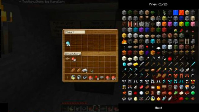 Mod: TooManyItems ©TooManyItems, Marglyph