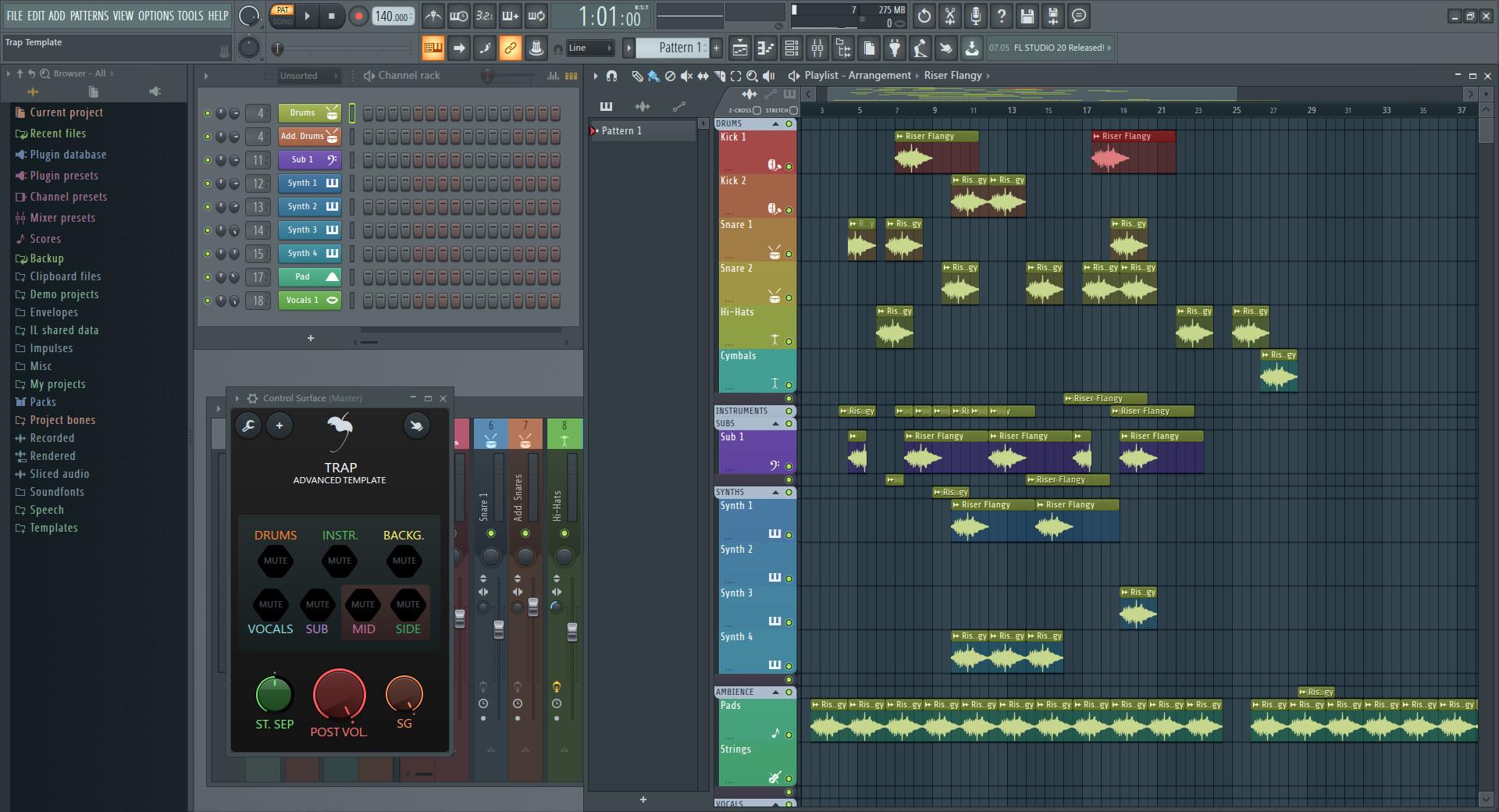Screenshot 1 - FL Studio