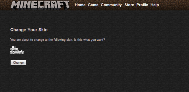 Minecraft: Homepage ©Mojang