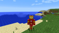 Skin: Iron Man © Minecraft