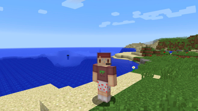 Skin: Minecraft-Zocker © Minecraft