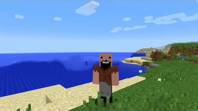 Skin: Notch © Minecraft