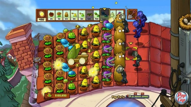 Plants vs. Zombies © PopCap/EA