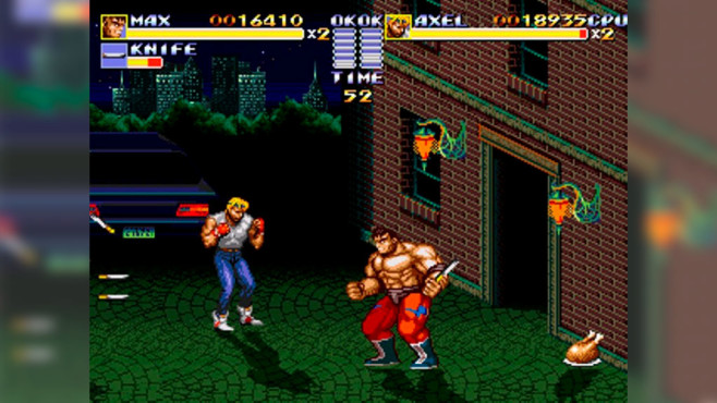 Streets of Rage Remake © Bombergames