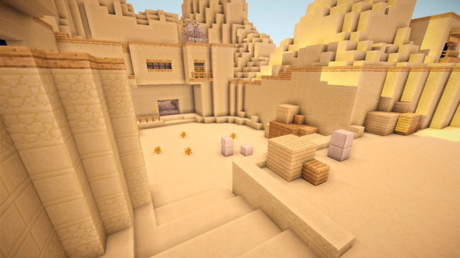 Texturen: de_Dust2 Remake © planetminecraft.com/project/de_dust2-remake/