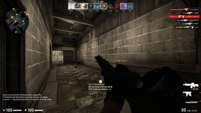 Counter Strike: Global Offensive © Valve