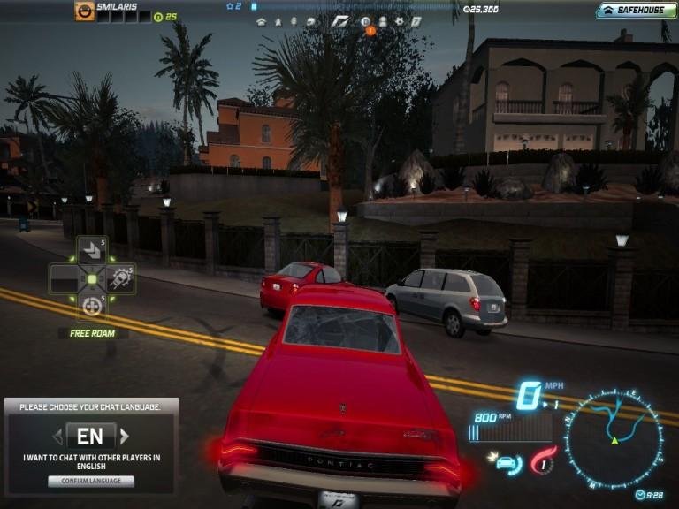 Screenshot 1 - Need for Speed: World