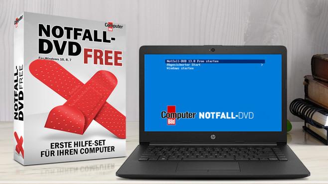 COMPUTER BILD-Notfall-DVD Free: Partitionen klonen, Einzelnes sichern ©COMPUTER BILD, iStock.com/BongkarnThanyakij