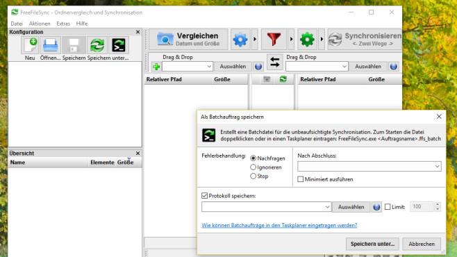 FreeFileSync: Dateien synchronisieren ©COMPUTER BILD
