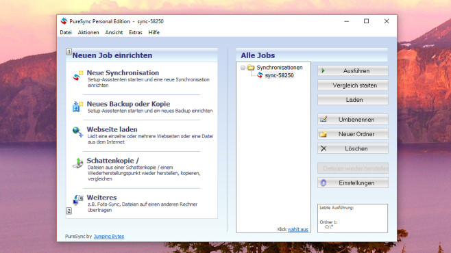 PureSync: Dateien synchronisieren ©COMPUTER BILD