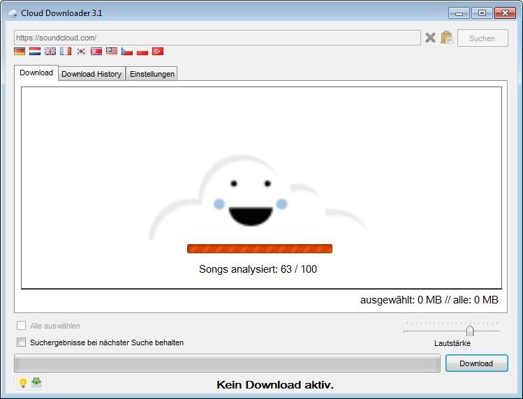 Screenshot 1 - Cloud Downloader