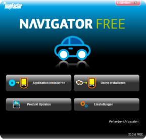 mapFactor Navigator Free Setup Utility