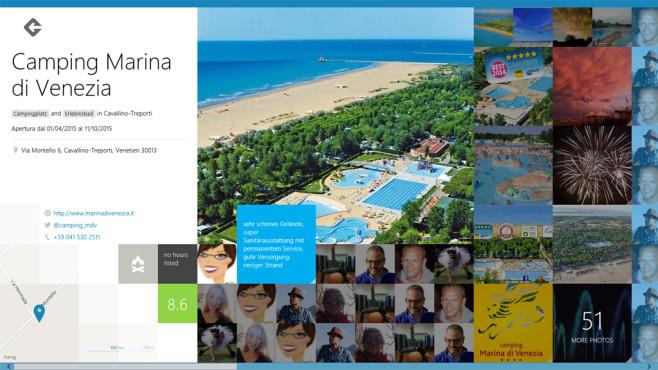 Foursquare: Sehenswerte Orte entdecken ©COMPUTER BILD