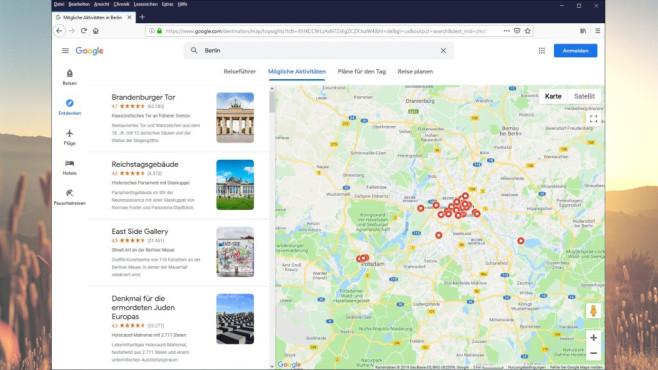 Google Reisen & Google Trips: Urlaub planen ©COMPUTER BILD