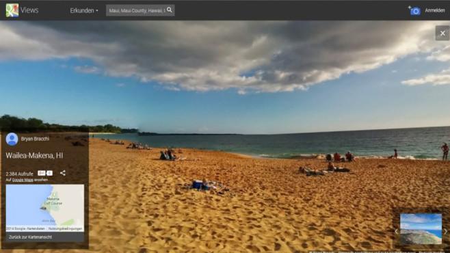 Google Street View: Ort der Träume erkunden ©COMPUTER BILD