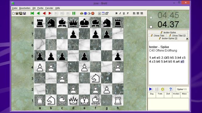 Jose: Schachspiel für langweilige Abendstunden ©COMPUTER BILD
