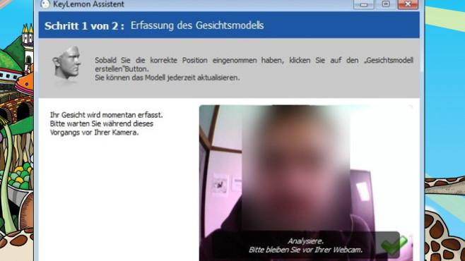 KeyLemon: Anmelden per Gesichtserkennung ©COMPUTER BILD