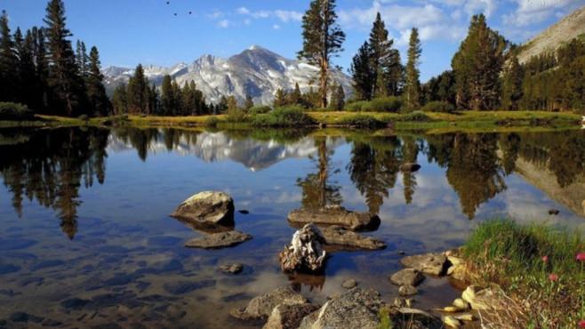 Lake 02 HD: Naturspektakel für Pausen ©COMPUTER BILD