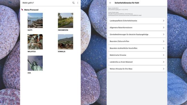 Sicher Reisen: Wichtige Infos über den Urlaubsort erhalten ©COMPUTER BILD