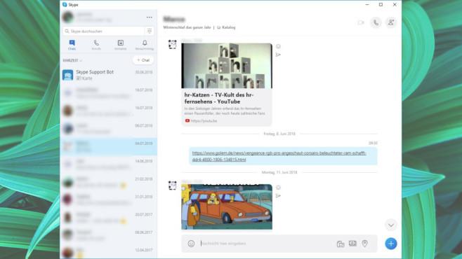 Skype: Chatten mit Daheimgebliebenen ©COMPUTER BILD