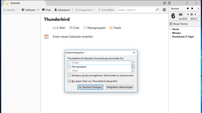 Thunderbird: E-Mail-Grüße absetzen ©COMPUTER BILD