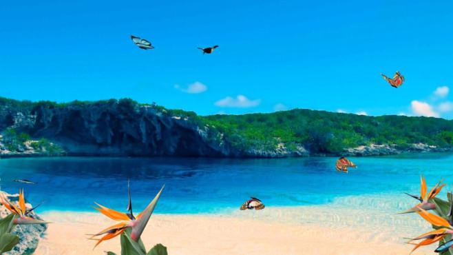 nfsBlueBeach: Strand-Bildschirmschoner für zwischendurch ©COMPUTER BILD