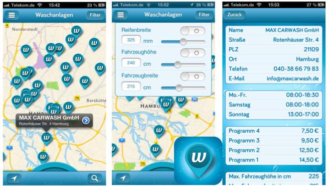 Wash-App ©meine-waschstrasse GmbH