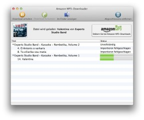 Amazon MP3-Downloader (Mac)