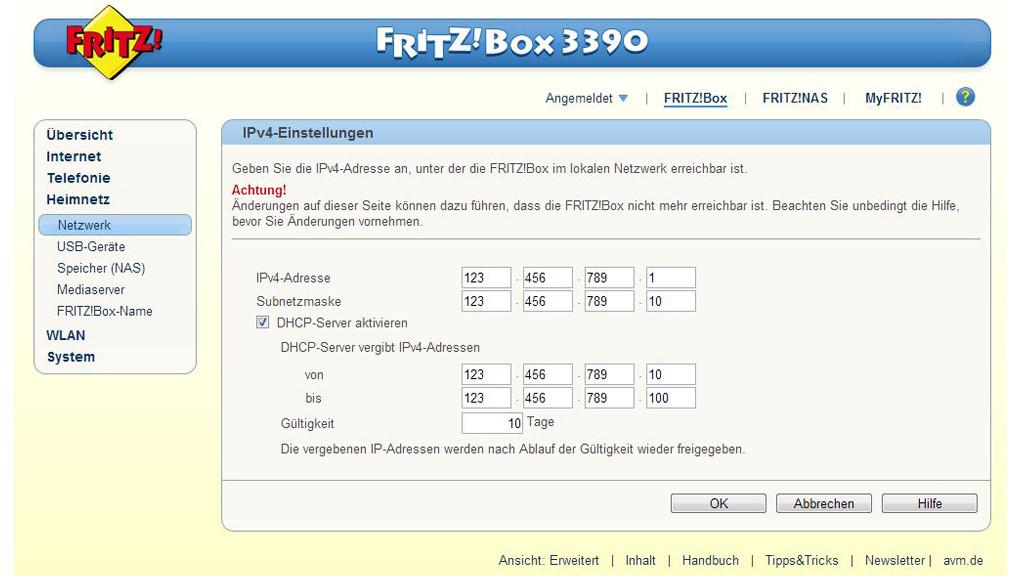 Fritzbox Einrichten Und Sicher Machen Bilder Screenshots