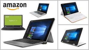 Die beliebtesten Notebooks bis 500 Euro bei Amazon©Amazon, Acer, Lenovo, Asus