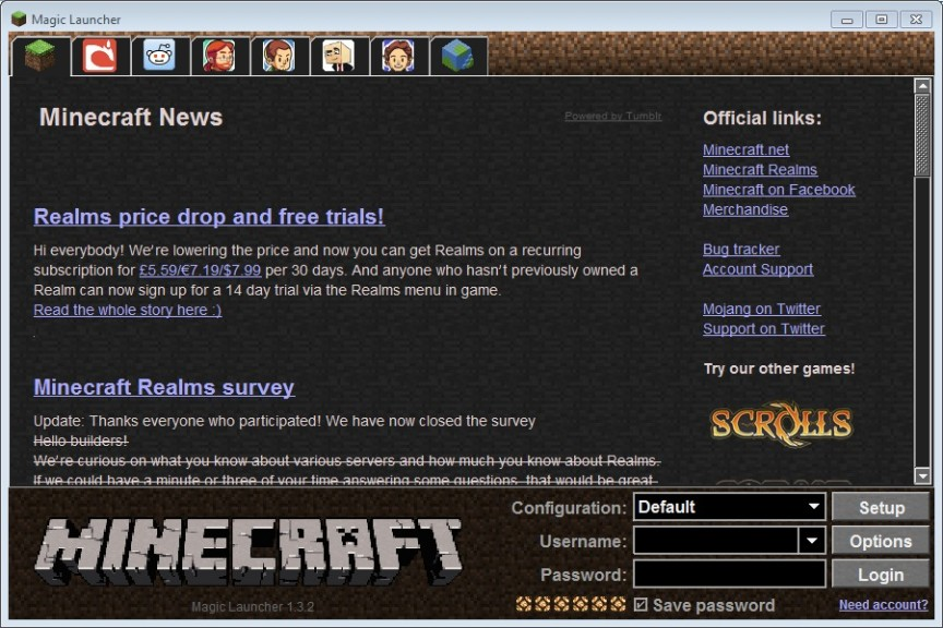 minecraft launcher download pc